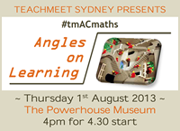 TeachMeet AC Maths