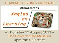 TeachMeet AC Maths