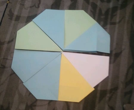 Kites to octagon