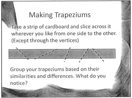 Making Trapeziums