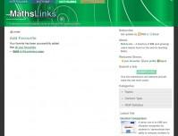 MathsLinks screenshot