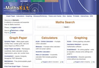 MathsKit.net screenshot